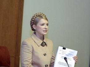 Тимошенко обещает запустить украинский спутник в 2011 году