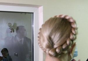 Тимошенко - здоровье Тимошенко - ГПС: Вопрос перевозки Тимошенко из больницы в колонию не рассматривается