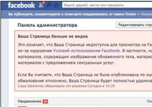 Новости FEMEN - Facebook заблокировал основную страницу FEMEN