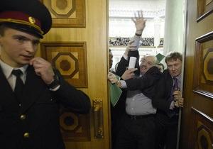 ВВС Україна: В начало работы новой Рады вмешалась Свобода