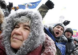 Фейерверк во время протеста: Предприниматели на Майдане по-разному восприняли принятие Налогового кодекса