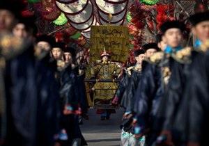 В Китае встречают год Змеи