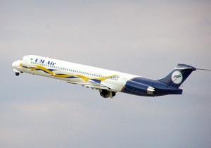 В небе над Крымом у самолета Тегеран-Киев отказал один из двигателей