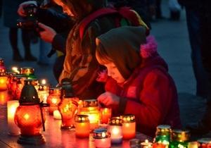 МВД: День памяти жертв Голодомора в Украине прошел без нарушений