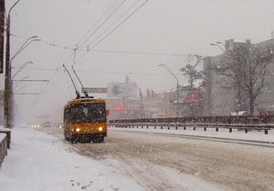 В Харькове продолжается забастовка водителей трамваев и троллейбусов