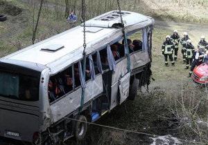 ДТП в Бельгии - МИД: По предварительным данным, граждан Украины в разбившемся в Бельгии автобусе не было