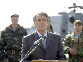 Ющенко: Украина начнет собственное производство ракетных комплексов Сапсан
