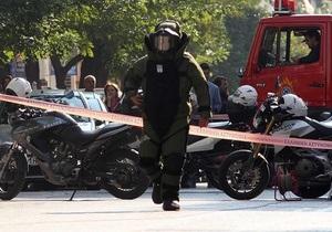 Греческие анархисты взяли на себя ответственность за отправление бомб в посылках