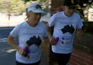 Новогодние обещания: Пожилая супружеская пара намерена ежедневно пробегать марафон