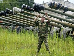 Из части в Ленобласти бежал вооруженный солдат