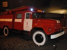 На рынке в Броварах сгорело 100 палаток