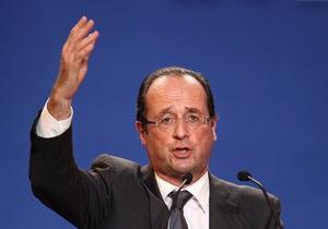 Франсуа Олланд: досье на нового президента Франции