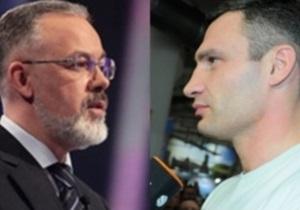 Кличко требует отставки Табачника за ксенофобию и шовинизм