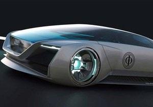 Гостья из будущего. Audi построила уникальный гиперкар специально для кинофильма