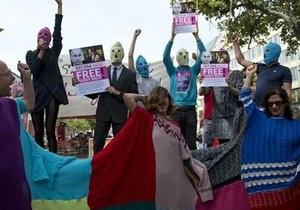 В Нью-Йорке полиция арестовала шесть сторонников Pussy Riot