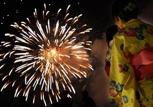 В Японии после праздника фейерверков госпитализировали 40 человек