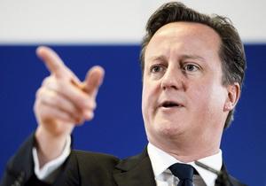 Кэмерон обещает референдум о членстве Британии в ЕС