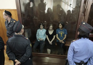 Одна из участниц Pussy Riot назвала вынесенный суровый приговор личной местью Путина