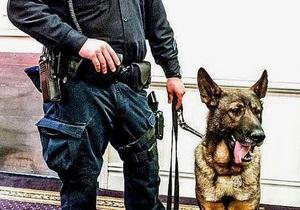 Студент задержан за то, что лаял на полицейскую собаку