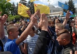 Участники Дня гнева приостановили свою акцию до 19 мая