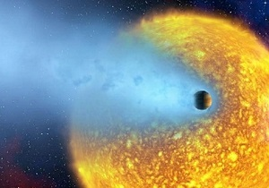 Астрономы нашли испаряющуюся планету