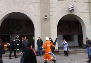 В администрации Лукашенко подтверждают гибель людей в результате взрыва в минском метро