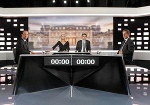Опрос: По результатам дебатов, французы предпочитают Олланда