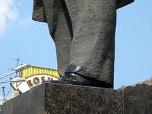 Донецкая милиция ответит перед мэром за ботинки Ленина