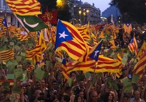 В Мадриде прошла новая массовая акция протеста