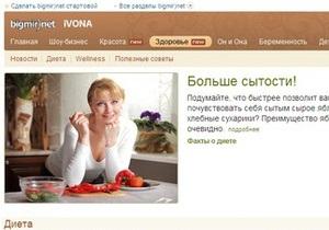 bigmir)net IVONA запустила новые разделы