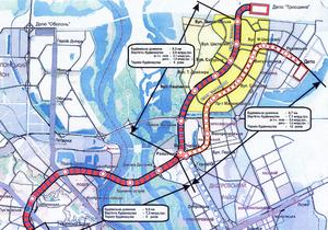Строительство киевского метро на Троещину планируют закончить до 2018