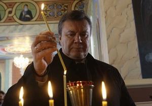 Янукович будет молить Бога, чтобы КС признал коалицию легитимной