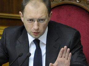 Матвиенко предлагает вернуть Яценюка на пост спикера