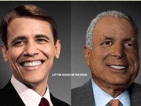 В Нью-Йорке появился белый Обама и черный Маккейн