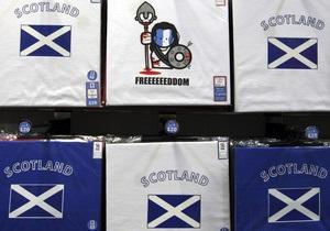Шотландия готовится к независимости от Великобритании