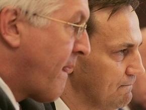 СМИ: Ющенко пытался не допустить встречу глав МИД Польши и Германии с Тимошенко