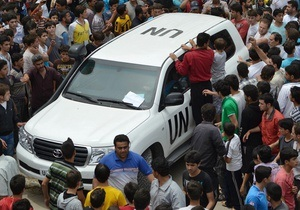 Сирию покинула почти половина наблюдателей ООН