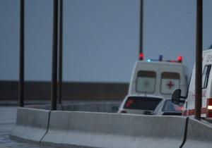 В Москве автомобиль врезался в остановку. Трое погибших