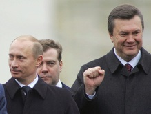 Янукович поздравил Медведева с победой