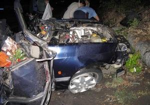 Ночью в Луганской области в результате ДТП погибли шесть человек