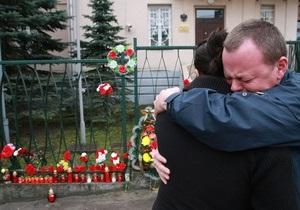 Фотогалерея: Братья по несчастью. Львов скорбит о жертвах авиакатастрофы под Смоленском