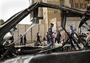 В результате взрывов в Багдаде повреждены несколько посольств, более 30 человек погибли и 224 получили ранения