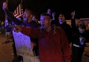 Новости США - новости Бостона - Царнаев -В США прошла акция протеста против захоронения Царнаева близ Бостона