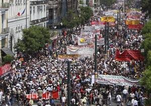В Греции проходит всеобщая забастовка, на улицы вышли тысячи человек