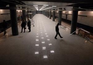 На пробном поезде в сторону новых станций метро проедутся Янукович и Азаров