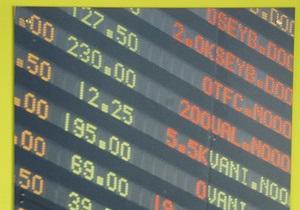 Украинские биржи закрылись падением