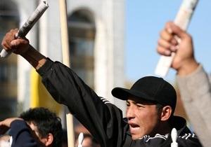В Кыргызстане при разгоне митинга пострадали десять человек, трое получили огнестрельные ранения