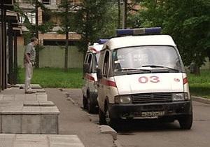 Пьяный водитель Жигулей напал на машину скорой помощи в Москве