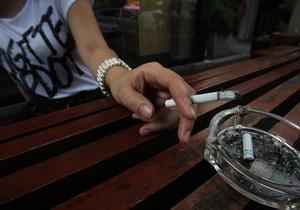 С момента принятия закона о запрете курения в Киеве к ответственности привлекли полторы тысячи человек