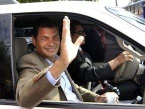 В Эквадоре действующий президент объявил о своей победе на выборах